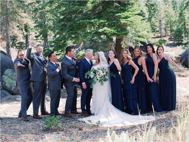 Classically Beautiful Lake Tahoe Wedding by Jennifer Clapp Fine Art Photography Andra & Billy