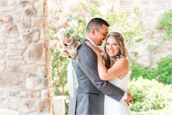 Яркая и воздушная свадьба в загородном клубе Кайли Комптон Фотография Саманты и Дерека