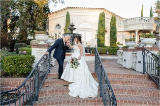 Justine Edward Vizcaya Sacramento Evening Estate Wedding Temple Photography