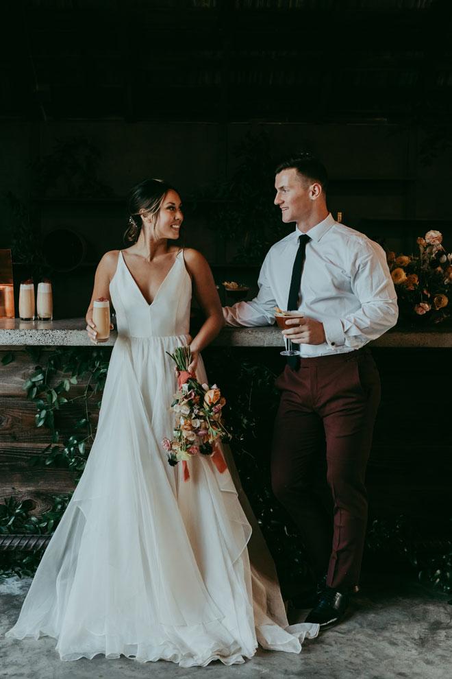 Elegant Contemporary Private Estate Wedding in Sacramento by Vanessa Lynne Photography