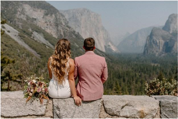 Sacramento Tahoe Adventure Wedding Styled Shoot | Northern California Elopement Inspiration | Yosemite Tunnel View Microwedding Styled Shoot
