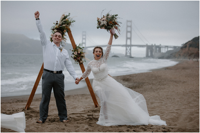 Sacramento Tahoe Adventure Wedding Photographer | Northern California Elopement Photography | San Francisco Golden Gate Bridge Microwedding Photographer