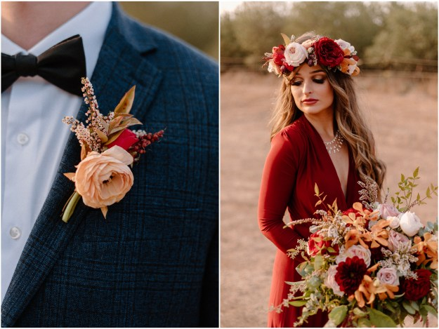 Chico Fall Inspired Wedding Styled Shoot