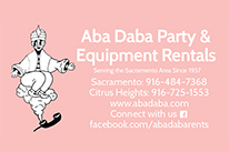 Aba Daba Party & Equipment Rentals