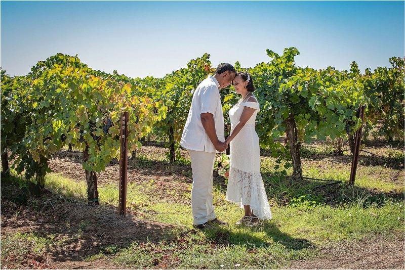 Victoria Darrell Kristina Cilia Photography McConnell Estates Winery Casual Outdoor Wedding