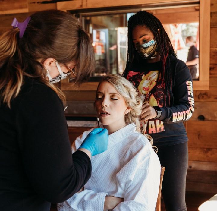 Arrvada Isom of Personify Bridal Sacramento Tahoe Real Weddings