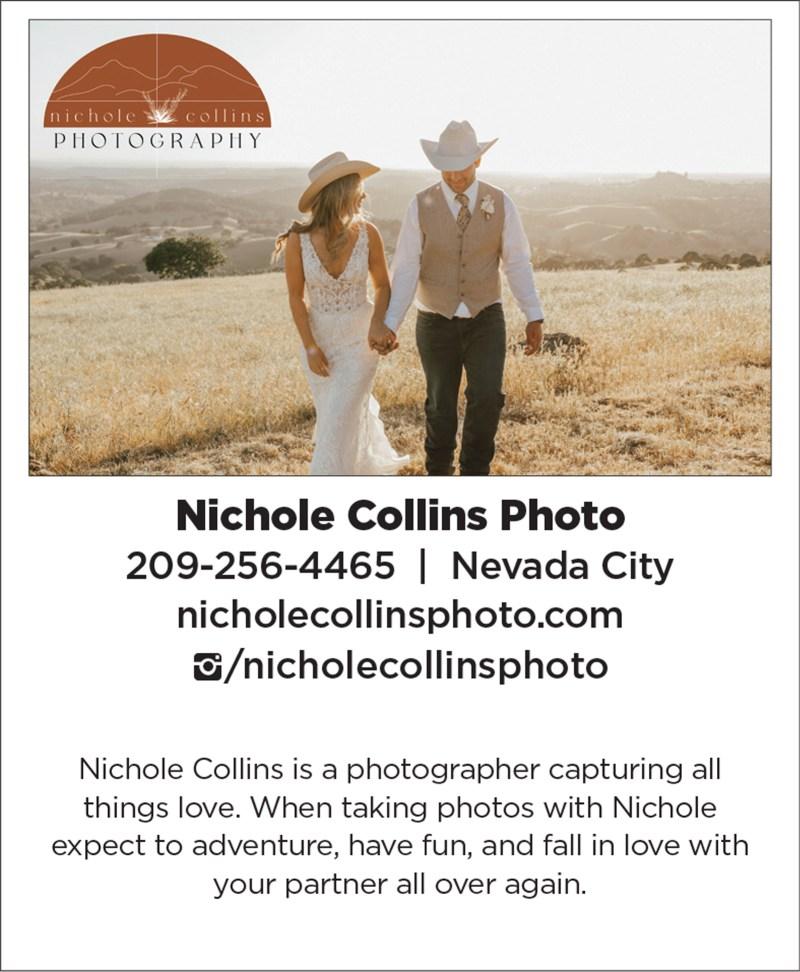 Sacramento Tahoe Nevada City Wedding Photographer