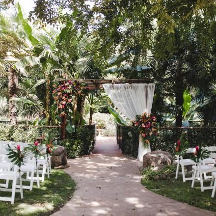 Chico Tropical Wedding Venue