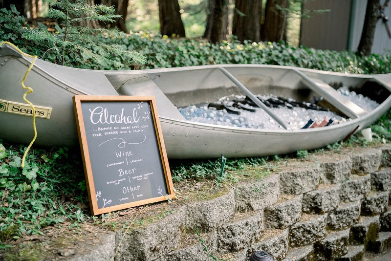Tiffany Longeway Photography Megan and Cory forest wedding in Arnold California