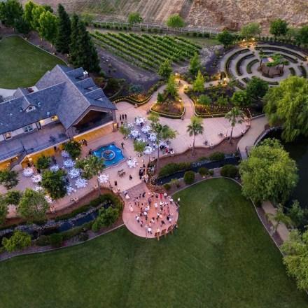 Sacramento Luxury Outdoor Winery Olive Oil Wedding Venue