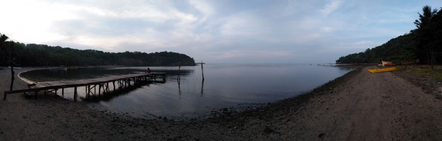 The cove in the early morning