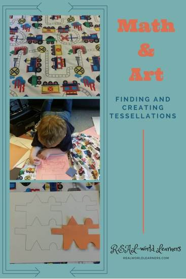 Discovering, understanding, and creating tessellations with my preschooler