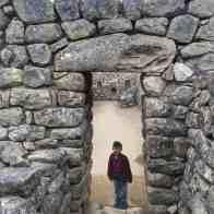 Machu Picchu Evan exploring