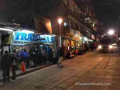 Machu Picchu for kids: Line at 5:00 a.m.