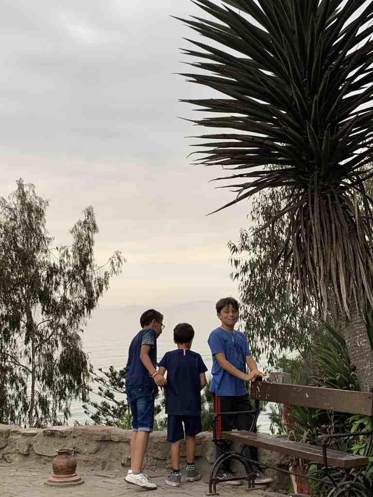 Fun with family in Barranco