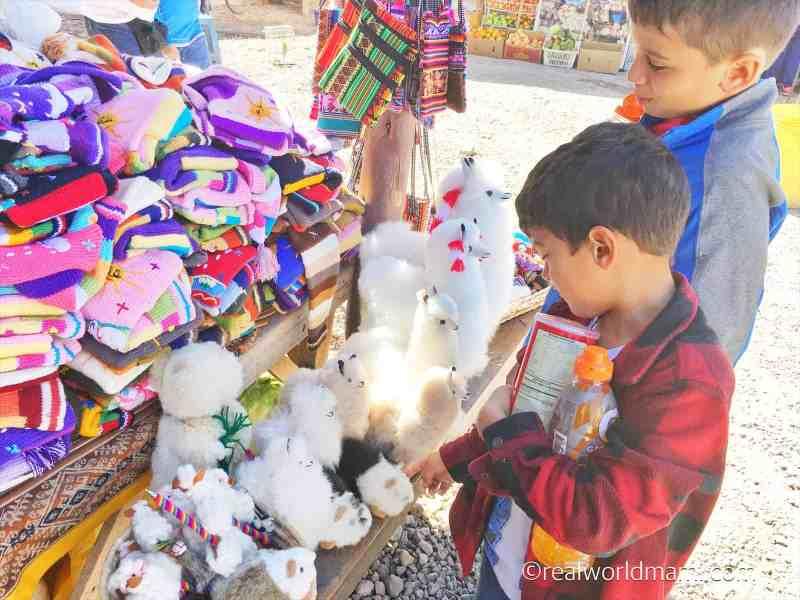 Cusco souvenirs  for kids