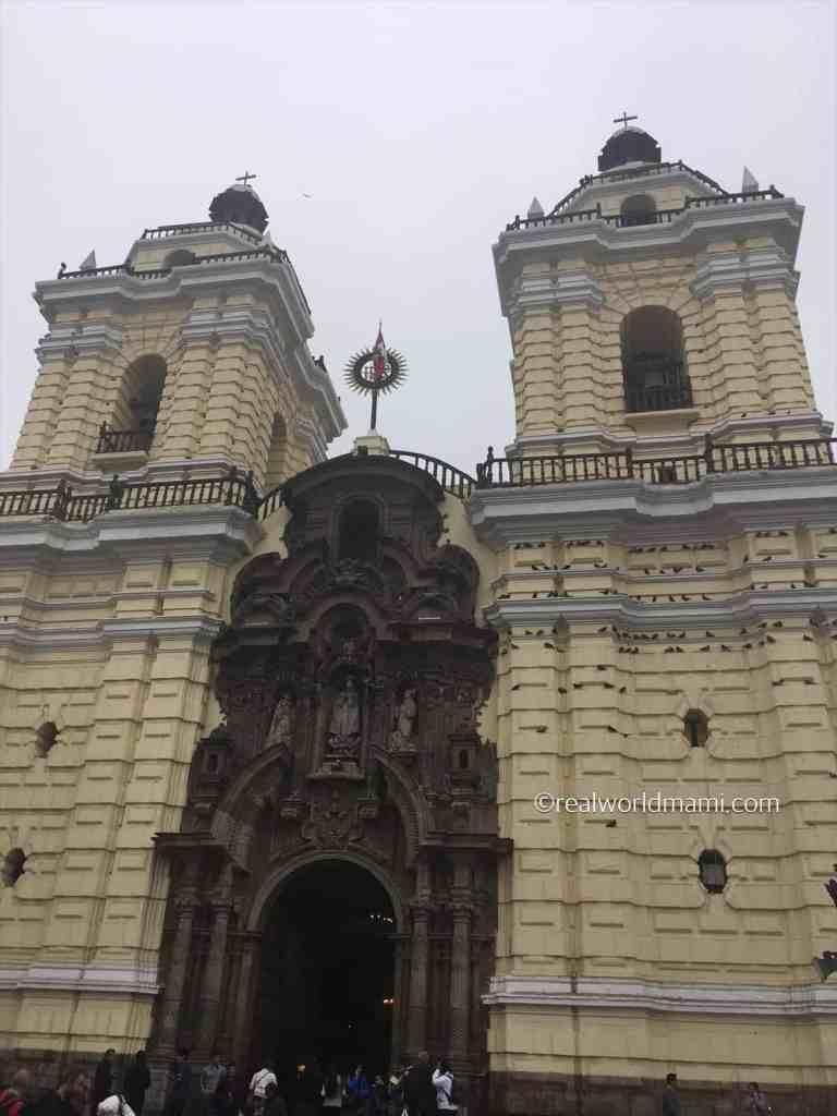 Peru with kids: San Francis Monastery or San Francis of Assisi