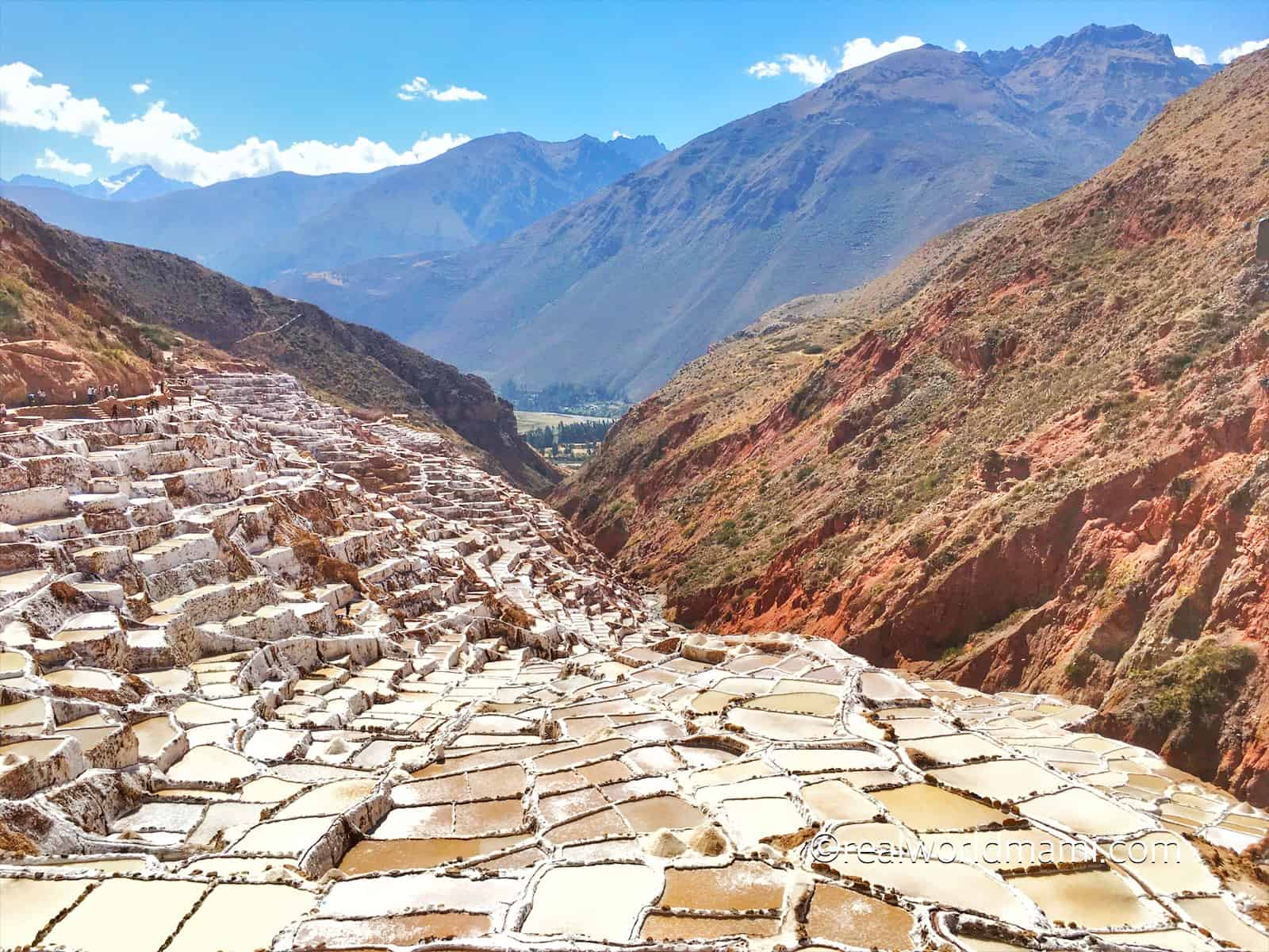 Cusco with kids Maras Salt Pond