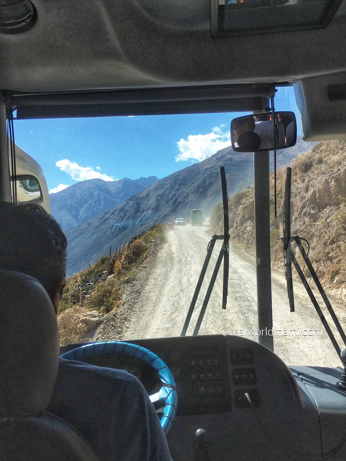 A dusty road
