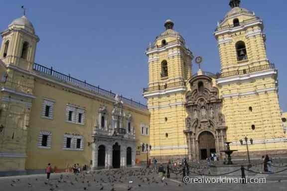 Lima Peru San Francisco Monastery