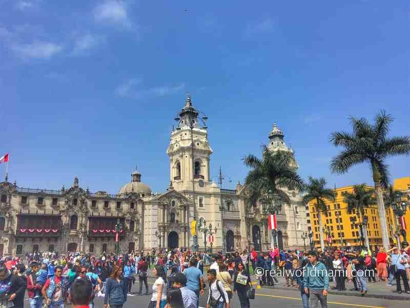 Lima Peru Government Palace