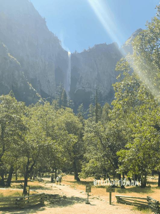 View of Bridalveil Fall
