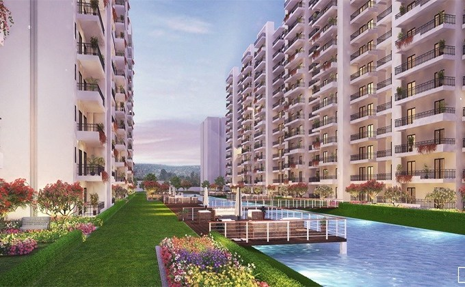 Central Park Flower Valley Aqua Front Towers Sector 11 Sohna, Sohna Flats & Apartments, Luxury