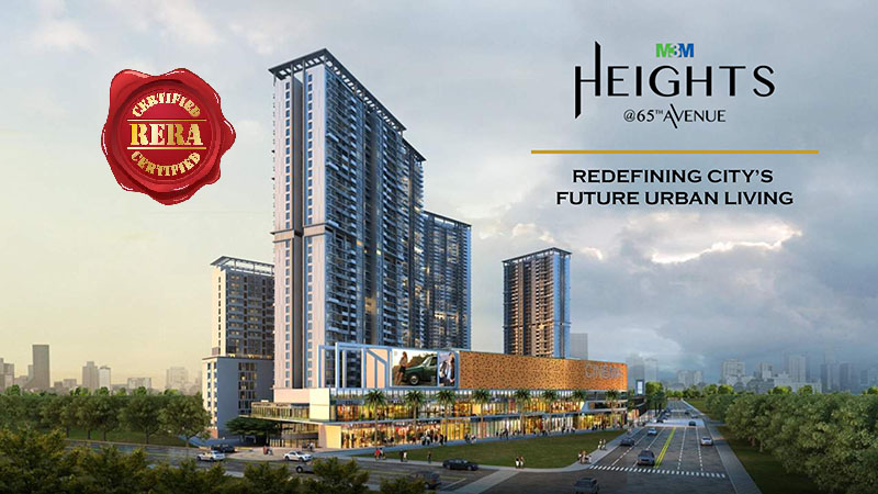 M3M Heights at 65th Avenue Golf Course Extension Road, Gurgaon Flats & Apartments, Luxury
