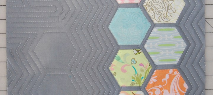 Modern Hexagon Quilting Tutorial