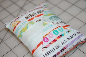 Selvedge Pin Cushion Front