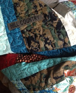 Name Tape On Quilt