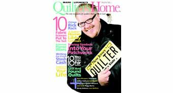 I'm in Quilter's Home Magazine!