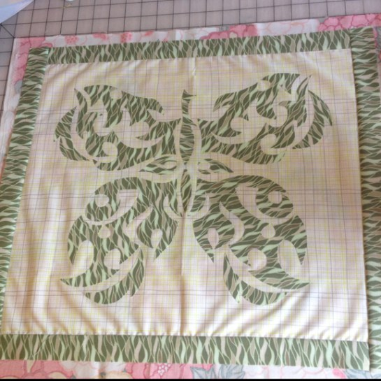 Quilt Arrangement | ReannaLily Designs | Butterfly Tattoo Quilt