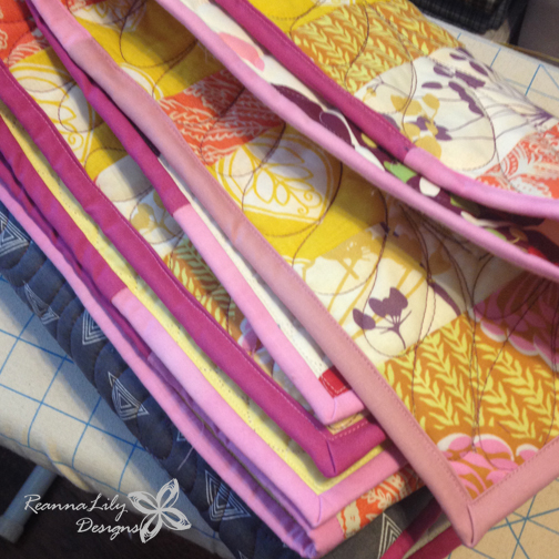 Bias Tape Quilt | ReannaLily Designs