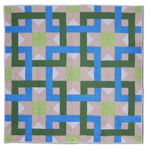 Interlocking Squares | Quilt Pattern | ReannaLily Designs