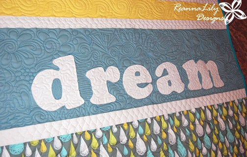 Graffiti Quilting Dream Strip Quilt