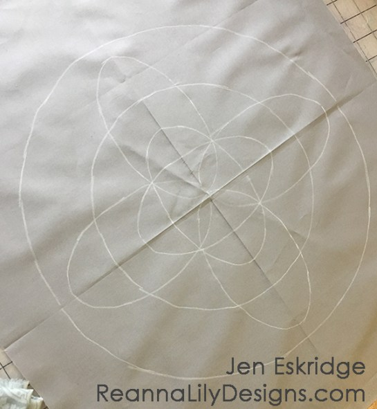 Free-Motion Framework Quilts- A Workshop by Jen Eskridge   ReannaLily Designs   ReannaLily Quilts   C&T Publishing