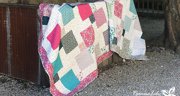 Disappearing 9-Patch With Layer Cakes BABY QUILTS