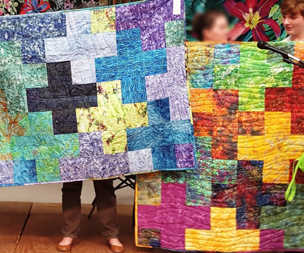 GSAQG   Plus Quilt   Bright Hope Committee   ReannaLily Designs