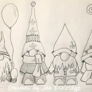 Gnome Mania Hits ReannaLily Designs