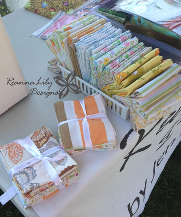 Boerne Texas Quiltfest | Outdoor Quilt Show | ReannaLily Designs  Vintage Sheets Fat Quarters