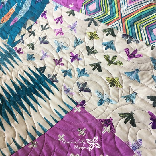 ReannaLily Quilts | Customer Quilts | Jen Eskridge | Free Motion Quilting | FMQ