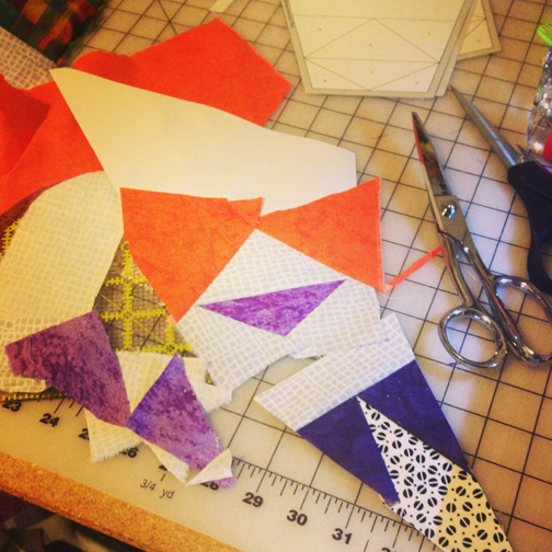 ReannaLily Designs   Celestial Star Pattern From Blank Pages   #celestialstarqal