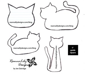 Pet Postcard Kitty Template