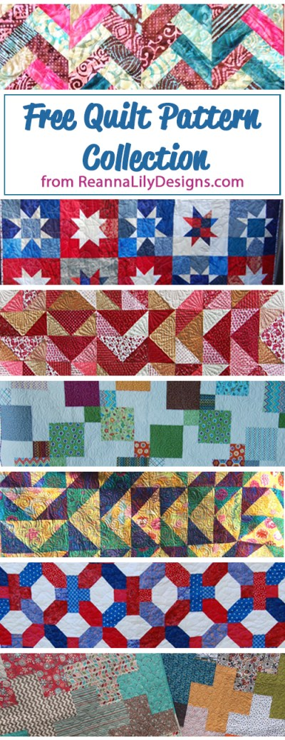 Free Quilt Patterns | Quilt Tutorials | How to Quilt | ReannaLily Designs | Jen Eskridge