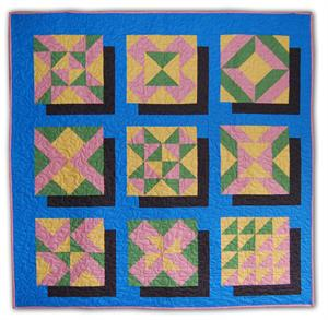 Quick 3D Sampler Quilt Pattern