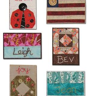 Quilt Guild Name Tags e-Pattern