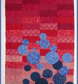 Floating Bubbles Quilt Pattern