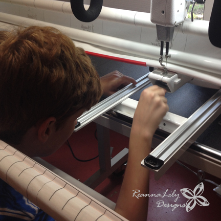 Handi Quilter Longarm Maintenence by Robbie