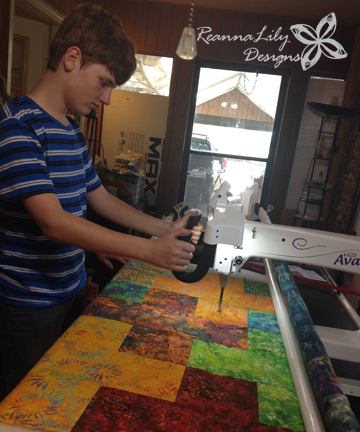 Robbie   Longarm Quilting   Charity